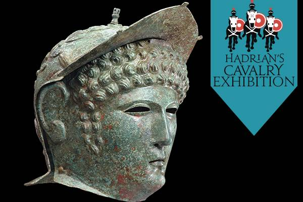 Hadrian's Cavalry Exhibition. Ribchester Type Helmet ® Private Loan