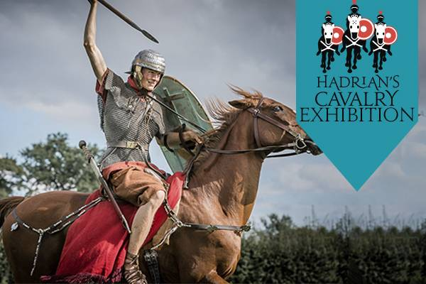 Hadrian's Cavalry Exhibition at Housesteads Roman Fort.