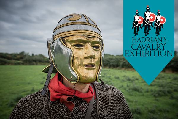 Hadrian's Cavalry Exhibition at Arbeia Roman Fort.