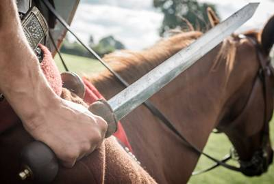 Roman cavalry sword called a spatha - copyright Ben Blackall