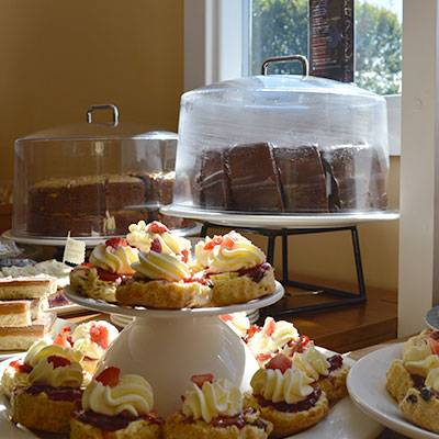Cakes at Chesters Tearoom, Chesters Roman Fort