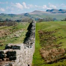 Hadrian's Wall at Birdoswald Roman Fort