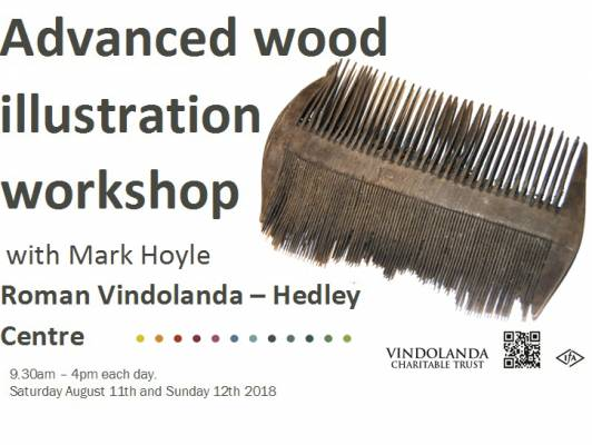 Ad Wood Illustration Workshop - wooden comb