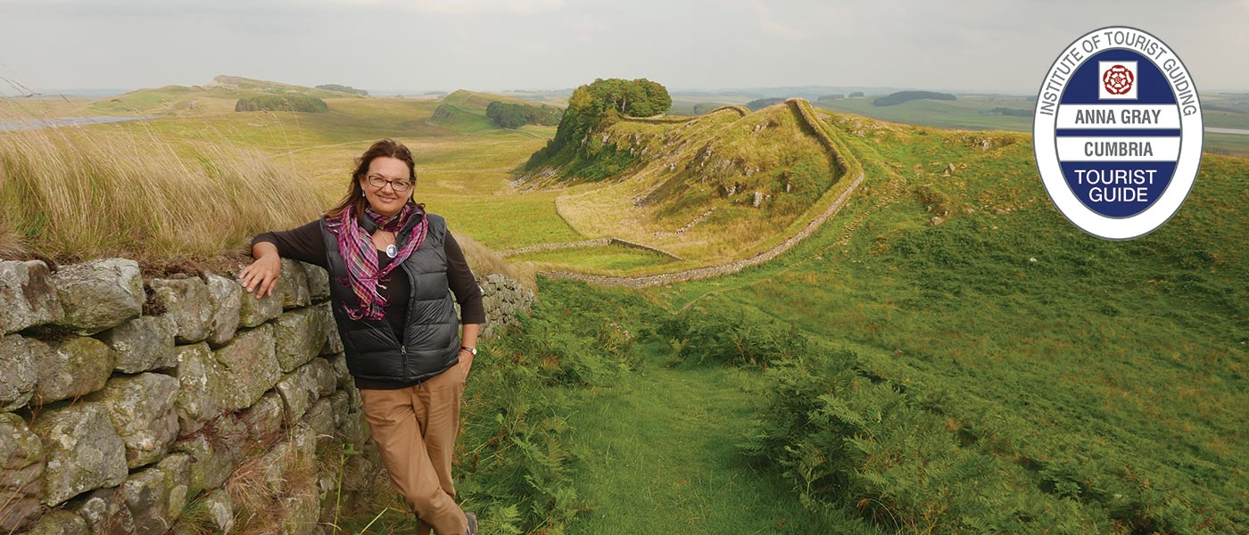 Anna Gray Blue Badge Tourist Guide Visit Hadrian S Wall