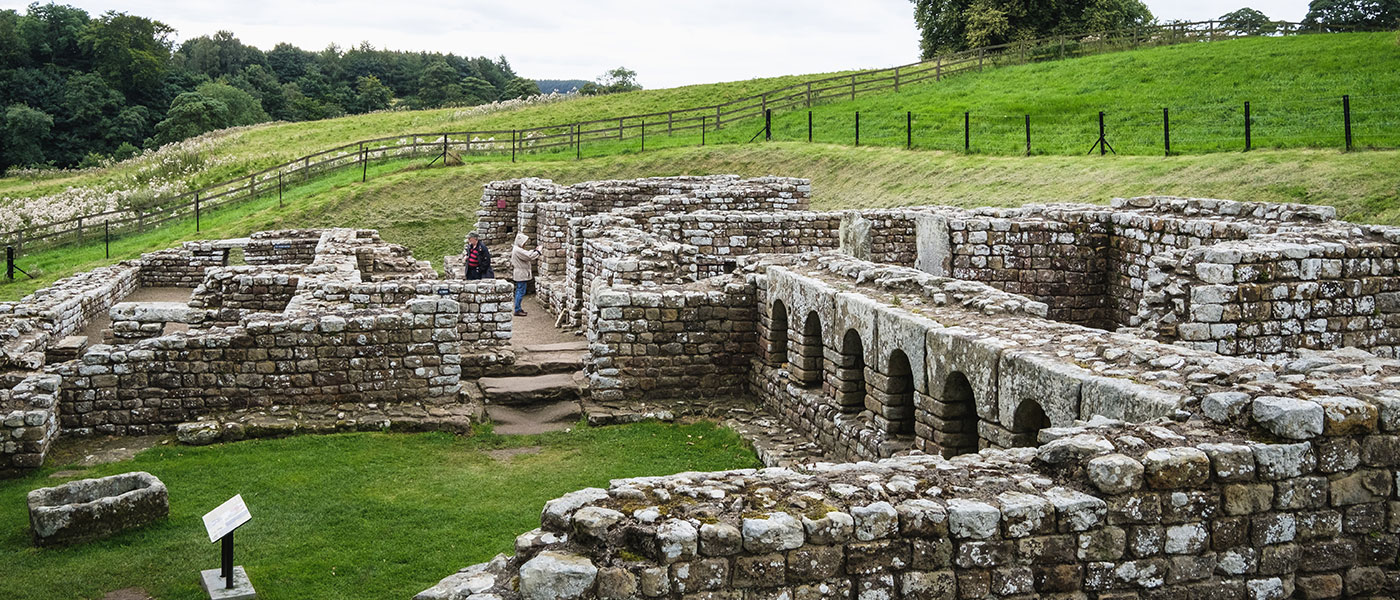 Military Bath-House at Chesters Roman Fort