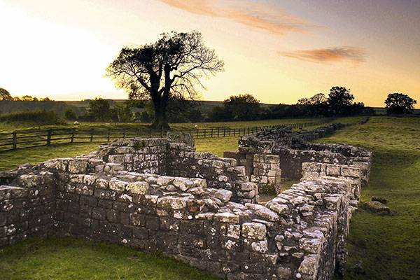 Birdoswald Roman Fort on Hadrian's Wall