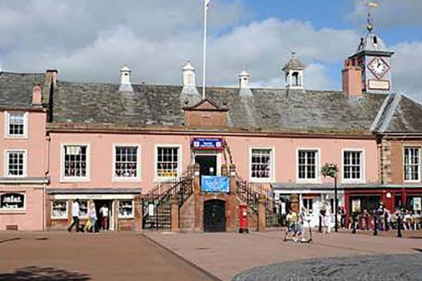 Image of Carlisle Tourist Information in the Old Town Hall.