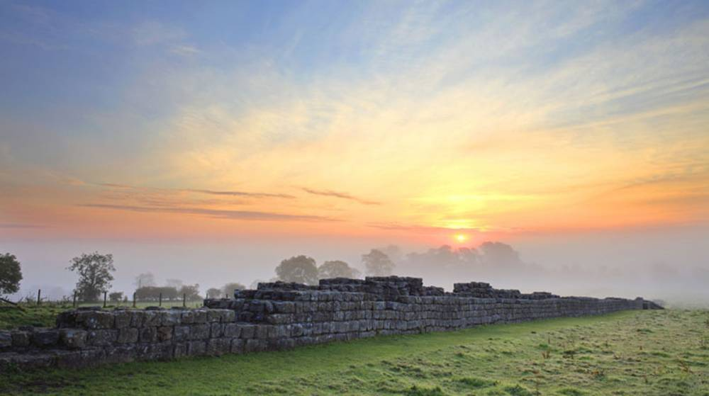 Black Carts, Hadrian's Wall Image by Roger Clegg