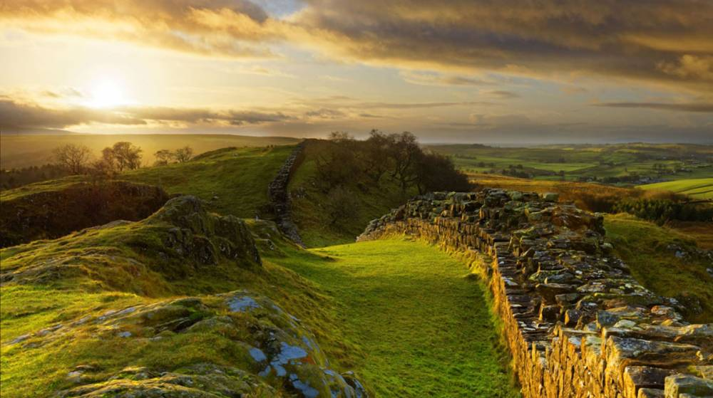 Walltown Crags Hadrian's Wall, Northumberland. Image credit Roger Clegg
