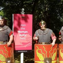 Roman Army Museum Soldiers